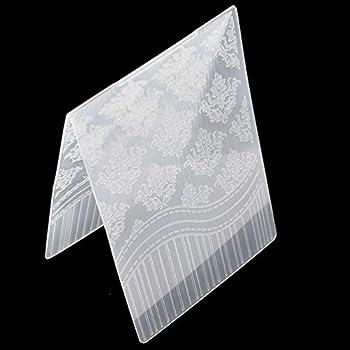 Kesheng Plioir A Gaufrage Classeur De Gaufrage en Plastique Embossing Folder Scrapbooking Happy Birthday