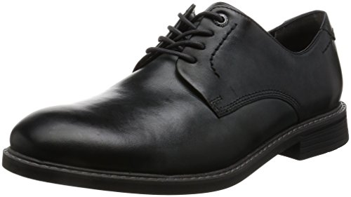 Rockport Herren Classic Break Plain Toe Derby Grau (DK SHADOW LEA)