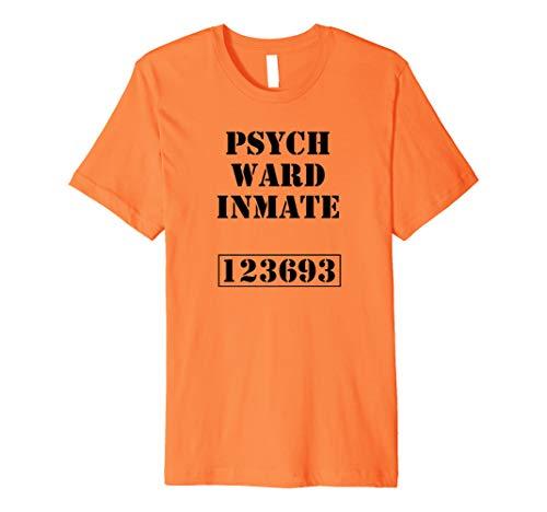 Psychiatrie Verkleidung Lustiges Karneval Kostüm Insasse (Insasse Kostüm)
