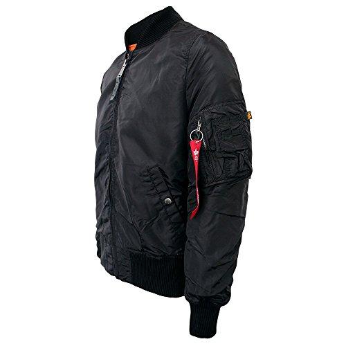 Alpha Industries Herren Jacke MA-1 TT Black