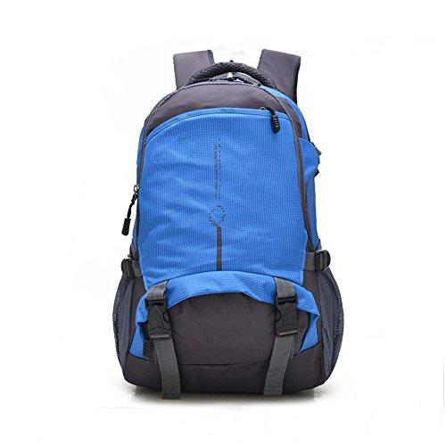 HTRPF Fashion Sports Wasserdichte Schultertasche Mountaineering Bag Männer und Frauen Rucksack 4