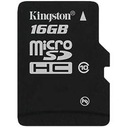 Kingston Micro Secure Digital High Capacity (SDHC) 16GB Speicherkarte