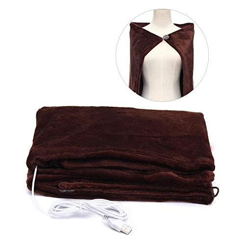 SOWLFE Infrarot USB elektrisch beheizt Decke Kissen Pad , Tragbare beheizten Schal Winter elektrische Erwärmung Hals Schulter, Ultra Weichen gemütlichen Komfort - Beheizte Wellness-kissen