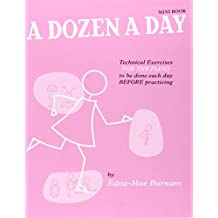 A Dozen a Day Mini Book (Rose) - Piano