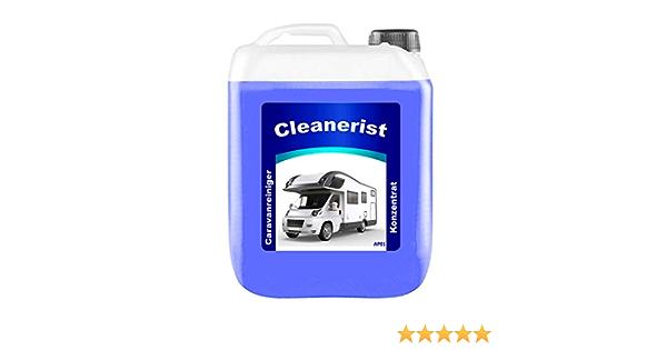 5 Liter Cleanerist Ap01 Caravanreiniger Konzentrat Spezieller Reiniger Für Caravan Wohnwagen Wohnmobil Und Reisemobil Auto