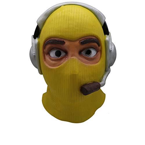 Fulltime E-Gadget Raptor Maske, Halloween Prop Scary Maske Spielzeug Cosplay Schmelz Gesicht Overhead Latex Kostüm für Geschenke, Kostüm Parteien Karneval, Weihnachten, Ostern, Silvesterparty ()