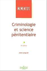 Criminologie et science pénitentiaire