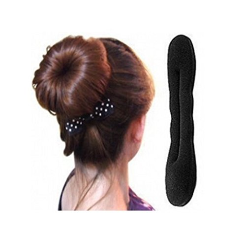Domire Lady Girl's Hair Twist Sponge Clip Hair Styling Braid Holder by DOMIRE