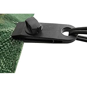 410CCxNlnDL. SS300  - Cost Wise® pack of 4 Super Grip Tarpaulin clips