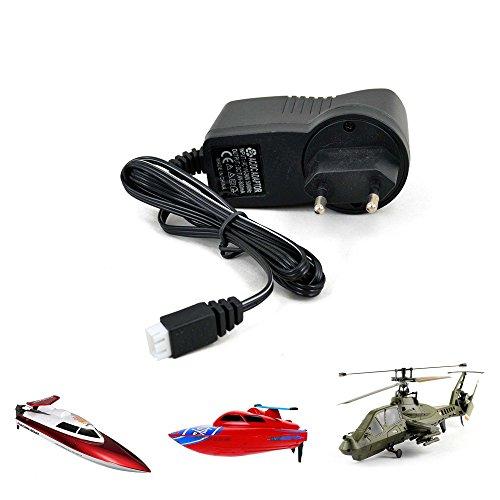 7.4V, 800mAh Universal Ladegerät für RC Hubschrauber Comanche FX060 und RC Boot FT007, WL911, Helikopter, Schiff,Boote (Chopper Comanche)