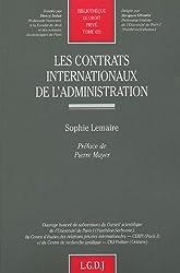 Les contrats internationaux de l'administration
