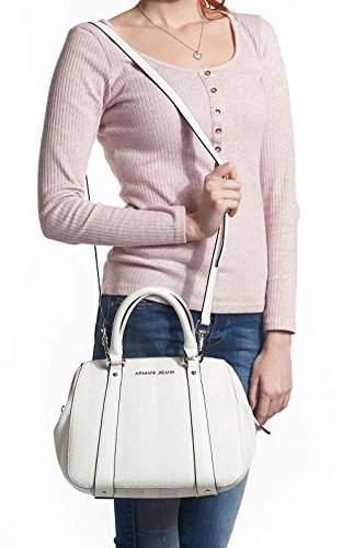 TOP HANDLE BAG C5239 S8 - ARMANI JEANS Bianco
