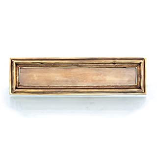 Antikas – Mail Slot for Old Main Door – Solid – Brass – Very High Quality Letterbox