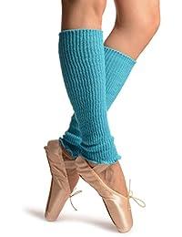 Sky Blue Dance/Ballet Leg or Arm Warmers - Leg Warmers - Azul Calentadores moda Talla unica (37 cm)