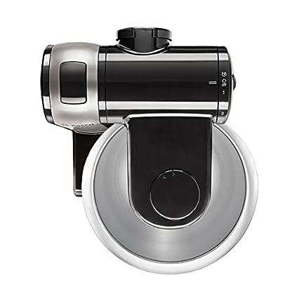 Bosch-MUM48A1-Kchenmaschine-600-Watt-39-Liter-Edelstahl-Rhrschssel-Durchlaufschnitzler-Rezept-DVD-schwarz