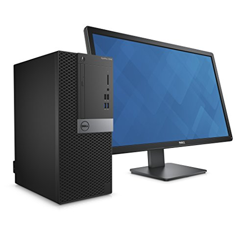 DELL 3 Years On Site Warranty i3 OptiPlex 3040 MT Desktop i3-6th Gen || 4GB DDR 4 || 500GB || Dos-Linux ||No DVD WR || With Monitor (Dell E2016) 19.5"
