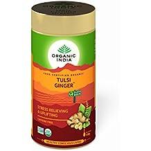 Organic India Tulsi Ginger Tea, 100g