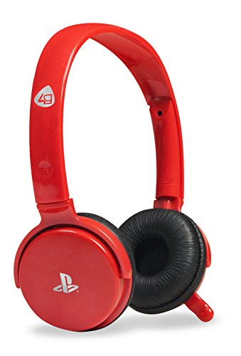 Officially Licensed CP-01 Stereo Gaming Headset - Red (PS3)