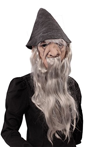 Karneval Klamotten Kostüm Maske Zauberer Zubehör Halloween ()