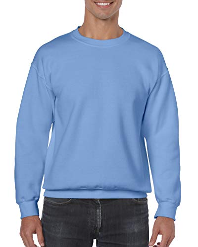 Gildan Sweatshirt, Melange Gr. S, Carolina Blue -