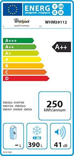 Whirlpool WHM39112 Gefriertruhe / A++ / Gefrieren: 390 L / Weiß / spAce+ / Supergefrieren - 2