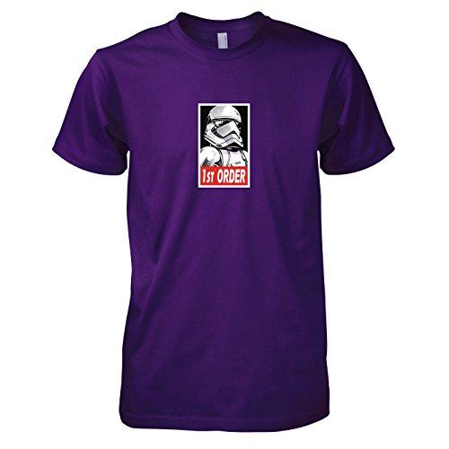 rder Stormtrooper - Herren T-Shirt, Größe XXL, violett (Star Wars Episode 6 Luke Skywalker Kostüm)