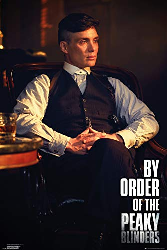 A4 297mm x 210mm. Tommy Shelby Peaky Blinders Poster #1