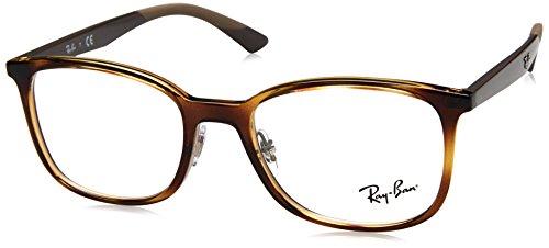 Ray-Ban Herren 0RX 7142 2012 50 Brillengestelle, Braun (Havana),