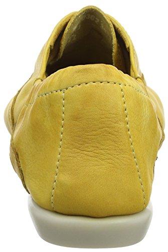 Softinos Ver362sof, Ballerines femme Yellow (Yellow)