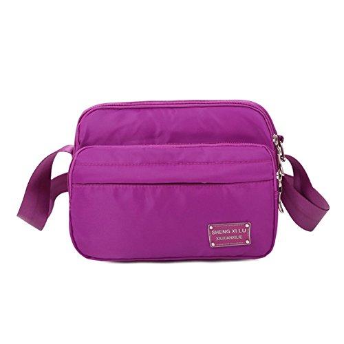 Nylon Messenger Bag/panno impermeabile di Oxford/pacchetto diagonale Ms./borsa a tracolla/pacchetto tempo libero-A D