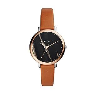 Fossil Moterims Analog Quarz Smart Watch Rankinis Laikrodis mit Leder Armband ES4378
