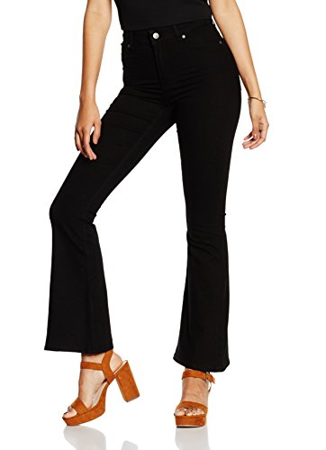 cheap-monday-womens-high-flare-spray-skinny-jeans-black-w32-manufacturer-sizew32-33-32