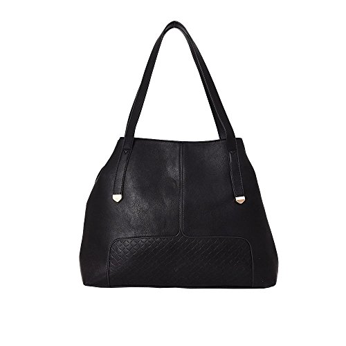 Hautefordiva , Damen Tote-Tasche dunkelgrau Large schwarz