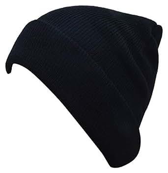 fdc6d311828 ... HIVER Pure Woolen Skull Cap Beanie - Black