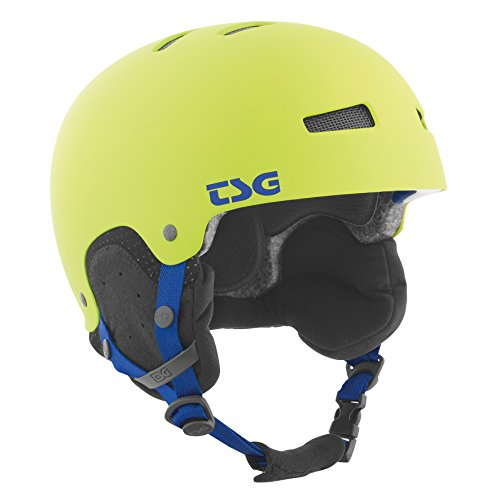TSG Snowboardhelm Gravity Solid Color, flat green, S/M, 750089