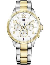 20d011a59 Reloj para mujer Tommy Hilfiger 1781644, mecanismo de cuarzo, diseño con  varias esferas,