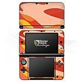 DeinDesign Nintendo 3 DS XL Case Skin Sticker aus Vinyl-Folie Aufkleber Camouflage Bundeswehr Orange