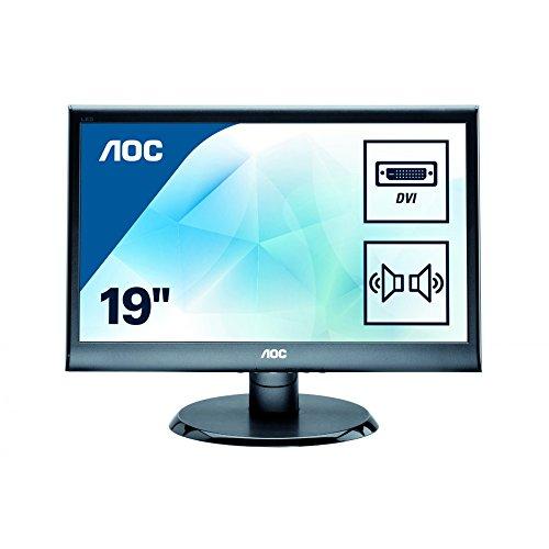 AOC e950SWDAK 18.5-Inch VGA/DVI/SPK Widescreen LED Monitor