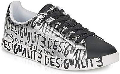 DESIGUAL Cosmic DESIGUALITÉ Zapatillas Moda Mujeres  - 37 - Zapatillas Bajas