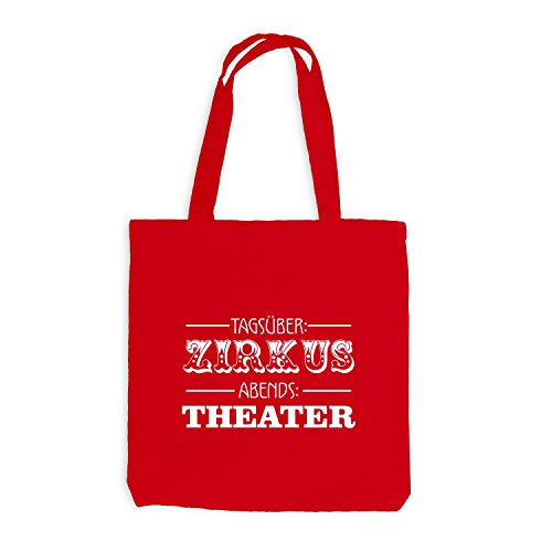 Borsa In Juta - Circo Diurno - Teatro Serale - Fun Style Red