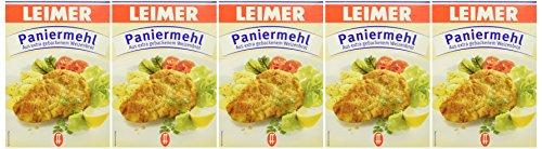 Leimer Paniermehl  Packung, 5er Pack (5 x 400 g)