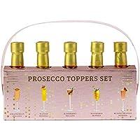 Set di Toppers di Prosecco - Confezione da 5 pezzi