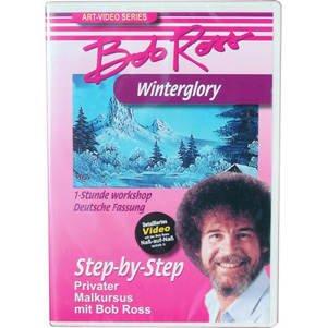 NEU Bob Ross DVD ´Projekt Winter Glory´, 60 Min.