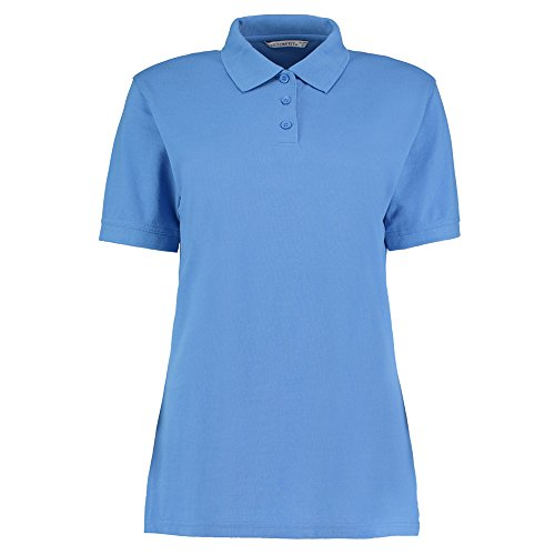Kustom Kit -  Polo  - Donna Mid Blue