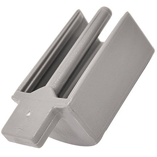 Spares2go Butée en plastique pour panier de lave-vaisselle Indesit Fitment List A