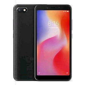 """Xiaomi Redmi 6A - Smartphone de 5.45"""" (Quad-Core 2.0 GHz Helio A22, RAM de 2 GB, Memoria de 16 GB, Camara de 13 MP, Android 8.1) Color Negro"""