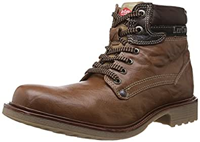 Lee Cooper Men's Tan Leather Boots - 11 UK