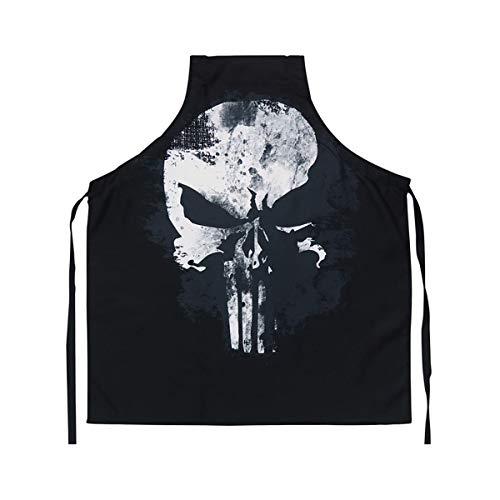 The Punisher Marvel Skull Logo Adult Kitchen