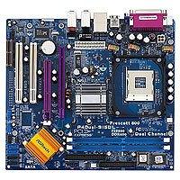 Asrock P4DUAL-915GL Socket 478 microATX - Placa base (2 GB, Intel, Socket 478, Realtek RTL8100C PCI 10/100 Fast Ethernet controller, micro ATX, 244 x 218)