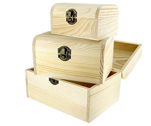 3-pieces-plain-wooden-jewellery-storage-box-case-natural-treasure-chest